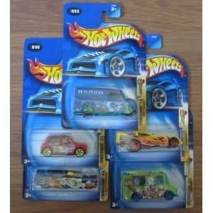 Hot Wheels 2003 Crazed Colown Series COMPLETE Set   Steel