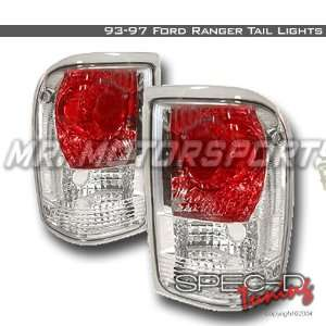 FORD RANGER EURO ALTEZZA TAIL LIGHTS CHROME Automotive