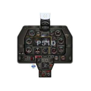 P51 Mustang Instrument Panel CDkit