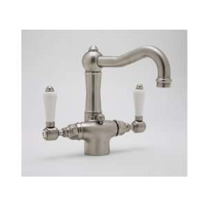 Rohl A1632LMTCB, Rohl Bathroom Faucets, Single Hole Country Lavatory