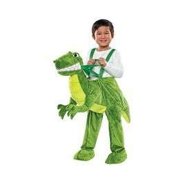 Plush DINOSAUR Dino Ride On In Costume Wrap Along 2 3 4