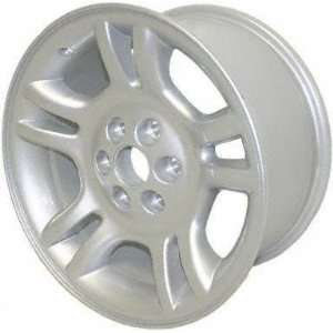 01 03 DODGE DURANGO ALLOY WHEEL (PASSENGER SIDE)  (DRIVER RIM 17 INCH