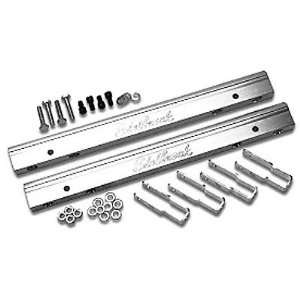 Edelbrock 3634 Aluminum Fuel Rail   Set of 2 Automotive