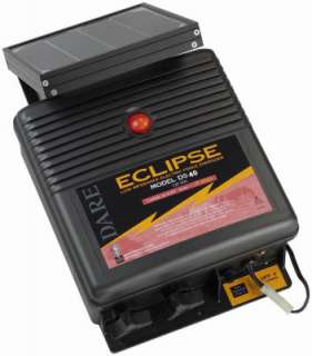 Eclipse Series 12V Solar Electric Fence Energizer DS40