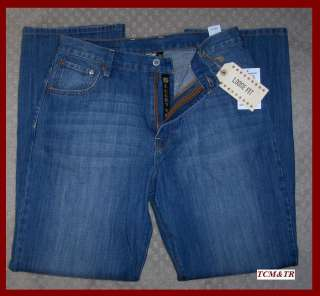 Lucky Brand Mid Rise Relaxed Straight Leg Jean 32 x 32