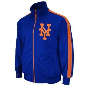 MLB New York Mets Pinch Hitter Track Jacket Mitchell Ness