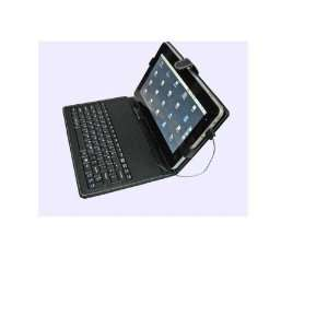 LEATHER KEYBOARD CASE FOR 7 TABLET OR EPAD