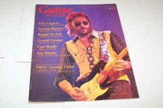 AUG 1976 GUITAR PLAYER music magazine ERIC CLAPTON