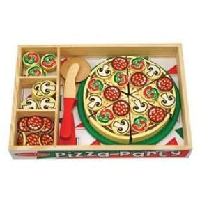 Pizza Party Play Food Set by Melissa and Doug Toys & Games