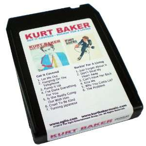 Kurt Baker 8 Track Shaped 4GB USB Flash Memory Stick Electronics