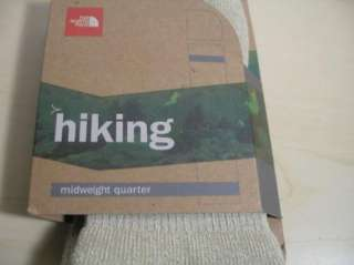 THE NORTH FACE Hiking Midweight Quarter Socks XL