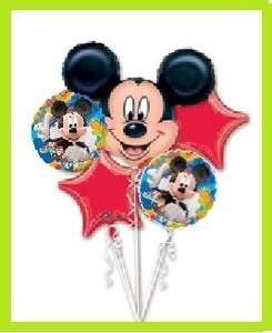 MICKEY MOUSE CLUBHOUSE party balloon birthday bouquet