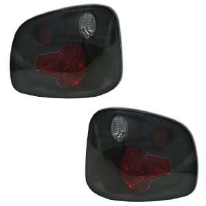 01 03 FORD F150 FLARESIDE ALTEZZA TAIL LIGHTS SMOKED