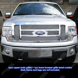 09 2011 Ford F 150 Lariat/King Ranch Billet Grille Insert Combo