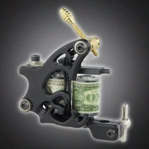 New Pro Liner Tattoo Machine Gun Dual 10 wrap Coil Supply