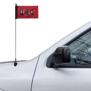 NCAA South Carolina Gamecocks 5.5 x 4 Garnet Antenna