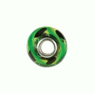 Naoto Green Murano Glass Beads Jewelry