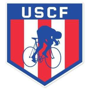 United States Cycling Federation USCF car bumper sticker