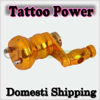 New Rotary Motor W4 Tattoo Machine Liner Shader Gun Gold Gourd