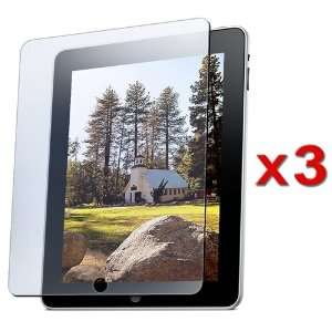 3x Reusable LCD Screen Protector Film for Apple iPad 16GB