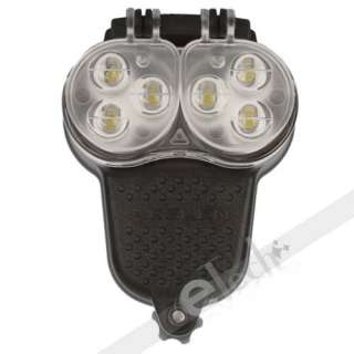 introductions the 6 high brightness white led bike light flashlight is