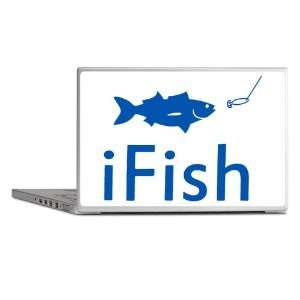 Laptop Notebook 7 Skin Cover iFish Fishing Fisherman