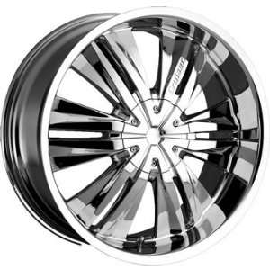 Cruiser Alloy Threshold 20x9 Chrome Wheel / Rim 6x5.5 with