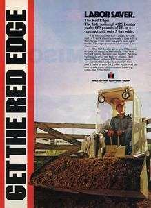 1980 International Harvester IH 4125 Loader Tractor Ad