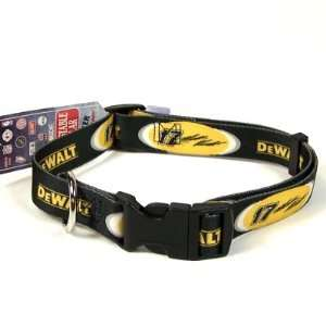 MATT KENSETH ADJUSTABLE NYLON DOG PET COLLAR SZ L  Sports