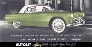 1956 Ford Thunderbird Brochure