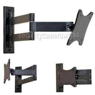 Tilt Swivel LCD LED Flat Panel TV Monitor Wall Mount Bracket 15 27