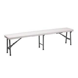 ACE Trading   Blow Mold Apex PA3100 Folding Bench 72 3/8x12x17 3/8