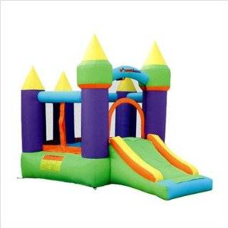 Bounceland Castle W/Hoop Inflatable Bounce House Bouncer Toys & Games