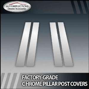 2010 2012 Lexus Gx 4Pc Chrome Pillar Post Covers