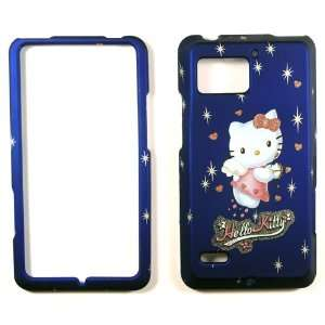 Hello Kitty Blue Motorola Droid Bionic XT 875 Faceplate