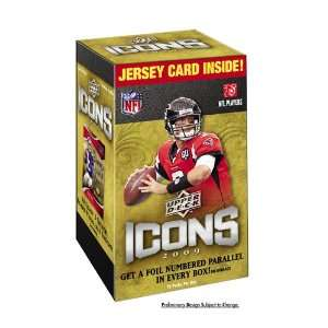 2009 Upper Deck NFL Icons Blaster (10 Packs) Sports