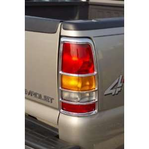 Putco Chrome Tail Lamp Covers, for the 2005 Hummer H2 Automotive