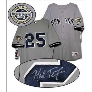 Mark Teixeira Signed Jersey 2009 New York Yankees Road