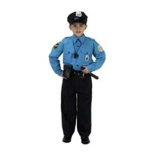 Jr Police Officer Suit Child Costume Ages 6 8 (BPS 68