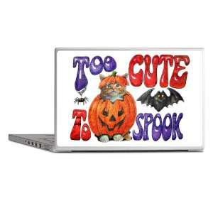 Laptop Notebook 15 Skin Cover Halloween Too Cute To Spook