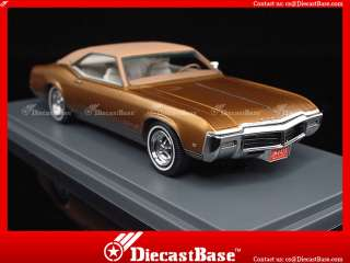 NEO Buick Riviera GS Gold Metallic 1969 Resin Road Car 143