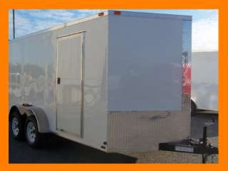 # TANDEM DIAMOND ENCLOSED CARGO OR MOTORCYCLE TRAILER   FREE COLOR