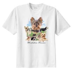 Yorkie Yorkshire Terrier Lawn Dog T Shirt S  6x