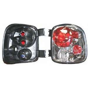02 05 GMC SIERRA PICKUP DENALI ALTEZZA CRYSTAL CLEAR TAIL LIGHT TRUCK