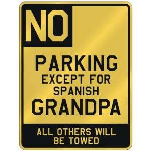 FOR SPANISH GRANDPA  PARKING SIGN COUNTRY SPAIN
