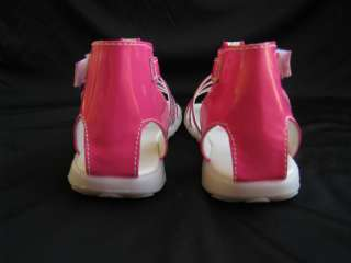 BABY & TODDLER GLADIATOR SANDALS SIZE3 6 FUCHSIA