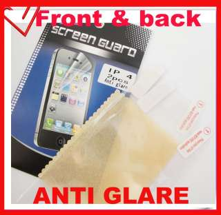 Anti glare Matte Body Screen Protector Cover Film Front & Back for