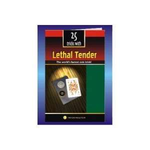 Lethal Tender Book Chinese Coin Money Magic Trick Cards