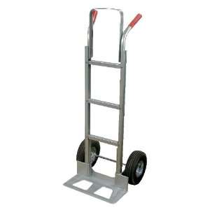 Vestil DHHT 500A Aluminum Hand Truck with Dual Handle, Pneumatic