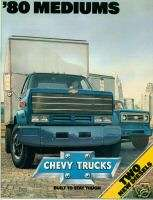 1980 Chevrolet Chevy Medium Duty Trucks 16 pp Brochure